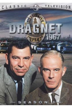Dragnet '67 - Season 1 DVD Cover Art