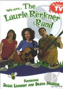 We Are... The Laurie Berkner Band DVD Cover Art