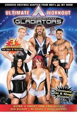 American Gladiators Fitness - #1 DVD Cover Art