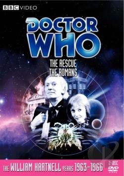 Doctor Who - The Rescue/The Romans DVD Cover Art