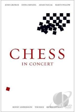 Chess In Concert: Live From Royal Albert Hall DVD Cover Art
