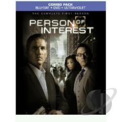 Person of Interest - The Complete First Season BRAY Cover Art