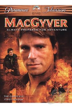 MacGyver - 5-Season Pack DVD Cover Art