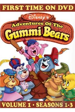 Disney's Adventures of the Gummi Bears DVD Cover Art