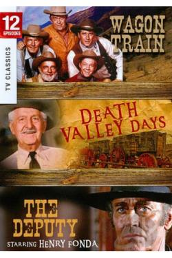 Wagon Train/The Death Valley Days/The Deputy DVD Cover Art