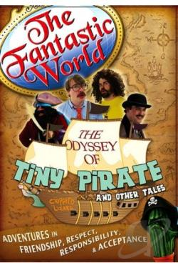 Odyssey of Tiny Pirate DVD Cover Art