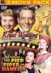 Royal Wedding/The Pied Piper Of Hamelin DVD Cover Art
