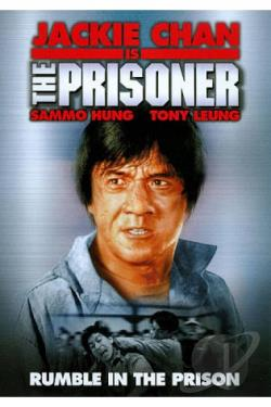 Jackie Chan's The Prisoner DVD Cover Art