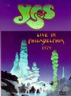 Yes - Live in Philadelphia 1979 DVD Cover Art