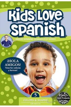 Kids Love Spanish, Vol. 5: Colors & Shapes DVD Cover Art