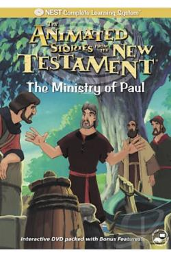 Animated Stories from the New Testament - The Ministry of Paul DVD Cover Art