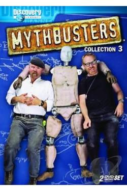 MythBusters - Collection 3 DVD Cover Art