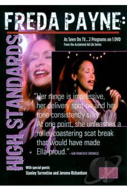 Ad Lib: Freda Payne - High Standards DVD Cover Art
