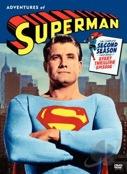 Adventures of Superman - The Complete Second Season DVD Cover Art