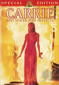 Carrie DVD Cover Art