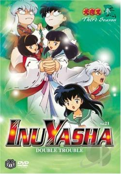 Inuyasha - Vol. 21: Double Trouble DVD Cover Art