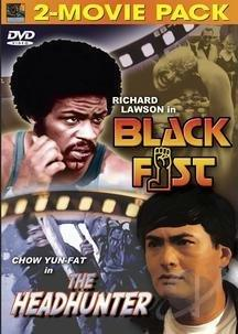 Black Fist/The Headhunter DVD Cover Art