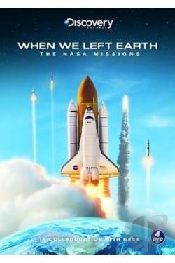 When We Left Earth - The Nasa Missions DVD Cover Art