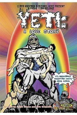 Yeti - A Love Story DVD Cover Art