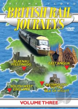 British Rail Journeys, Vol. 3 DVD Cover Art