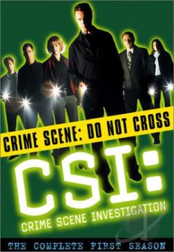 CSI: Crime Scene Investigation - The Complete First Season DVD Cover Art