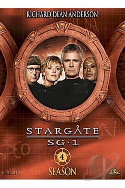 Stargate SG-1 - Season 4: Volume 5 DVD Cover Art