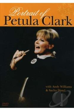 Petula Clark: Portrait Of DVD Cover Art