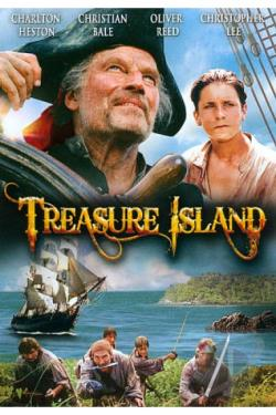 Treasure Island DVD Cover Art