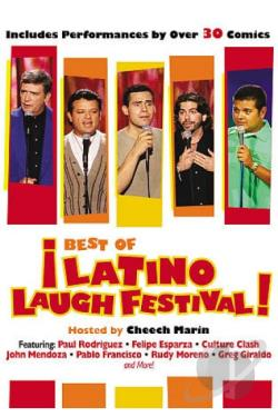 Best of the Latino Laugh Festival DVD Cover Art