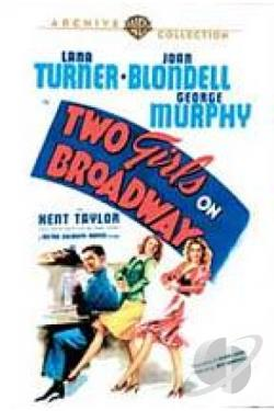 Two Girls on Broadway DVD Cover Art