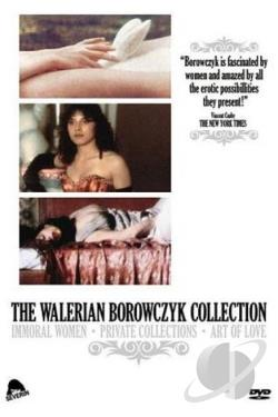 Walerian Borowczyk Collection DVD Cover Art
