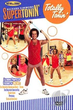 Richard Simmons - Supertonin': Totally Tonin' DVD Cover Art