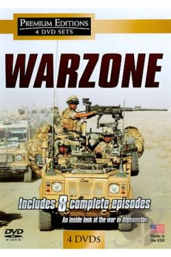 War Zone DVD Cover Art