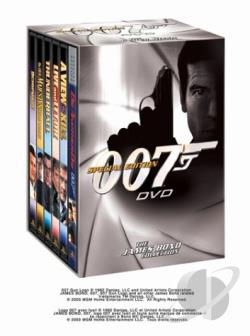 James Bond Collection - Special Edition 007 DVD 6-Pack: Volume 3 DVD Cover Art
