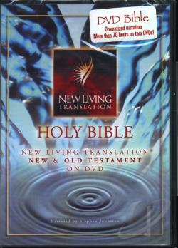 Holy Bible: New Living Translation - Complete Bible DVD Cover Art