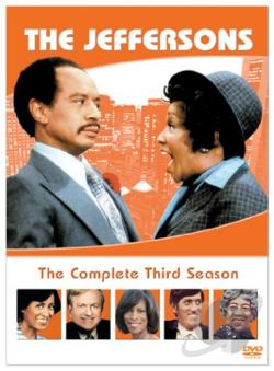 Jeffersons - The Complete Third Season DVD Cover Art