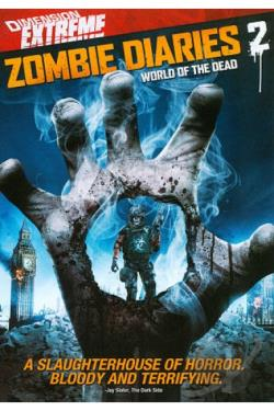 Zombie Diaries 2 DVD Cover Art