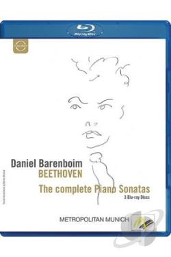 Daniel Barenboim - Beethoven - The Complete Piano Sonatas BRAY Cover Art