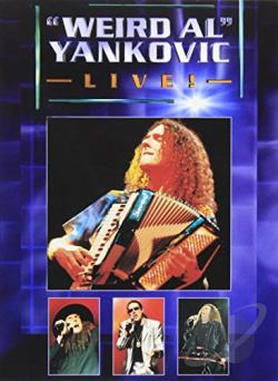 Weird Al Yankovic - Live! DVD Cover Art