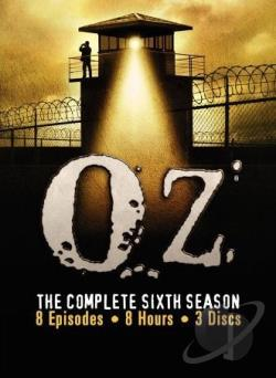 Oz - The Complete Sixth Season DVD Cover Art
