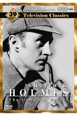 Sherlock Holmes - The Complete Series 39 Episodes DVD Cover Art