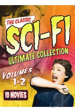 Classic Sci-Fi Ultimate Collection: Volumes 1 & 2 DVD Cover Art