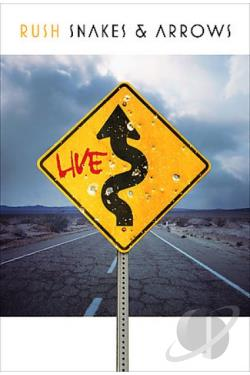 Rush - Snakes & Arrows Live DVD Cover Art
