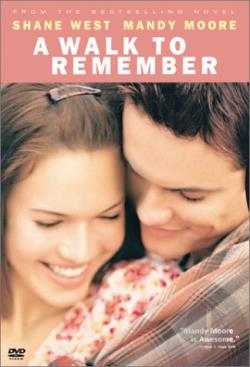 Walk To Remember DVD Cover Art