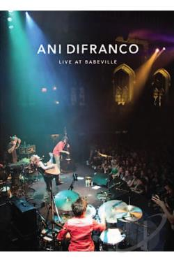 Ani DiFranco - Live At Babeville DVD Cover Art