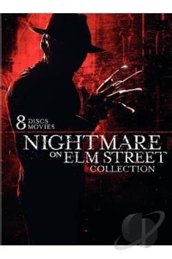 Nightmare on Elm Street Collection DVD Cover Art