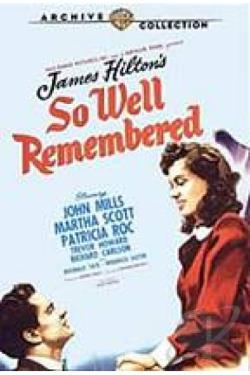 So Well Remembered DVD Cover Art
