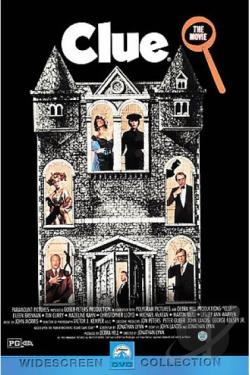 Clue DVD Cover Art