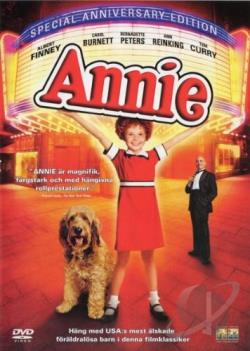 Annie DVD Cover Art
