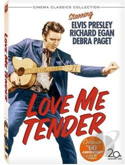 Love Me Tender DVD Cover Art